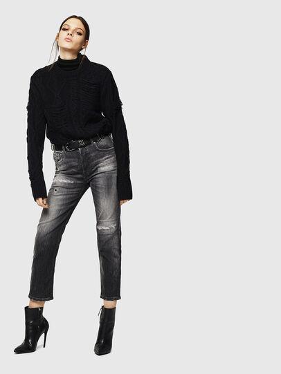 Diesel - Aryel 0095J, Black/Dark grey - Jeans - Image 6