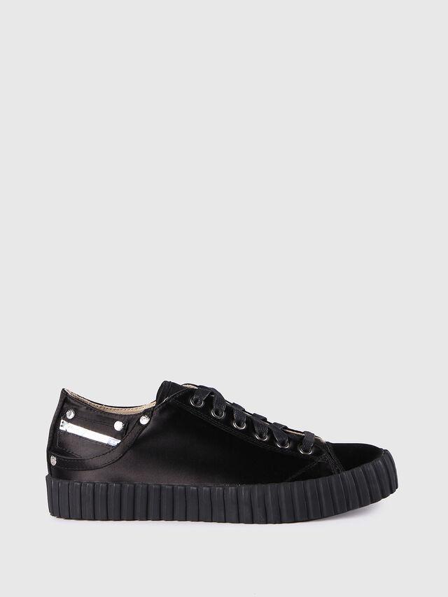 Diesel - S-EXPOSURE CLC W, Black - Sneakers - Image 1