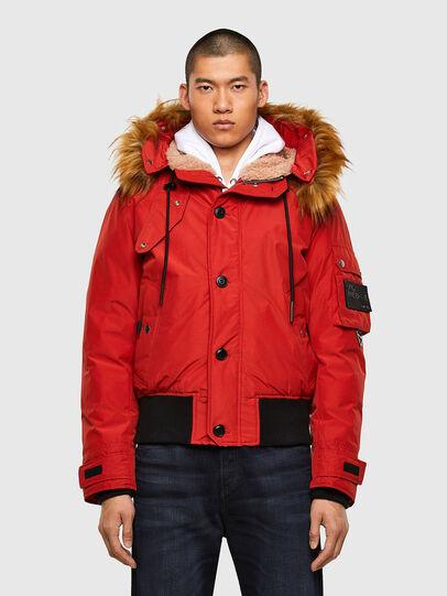 Diesel - W-JAME, Red - Winter Jackets - Image 1