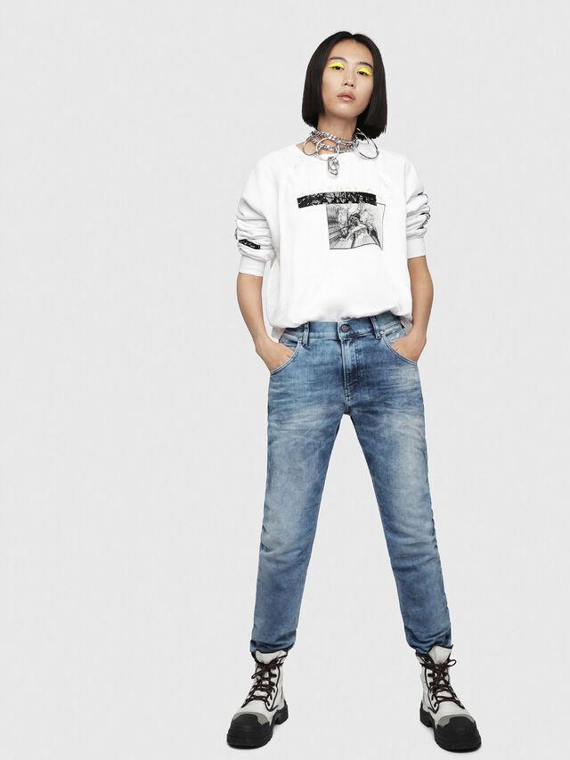 Diesel - Krailey JoggJeans 080AS, Medium blue - Jeans - Image 4
