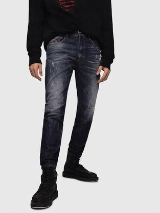D-Strukt 089AL, Dark Blue - Jeans