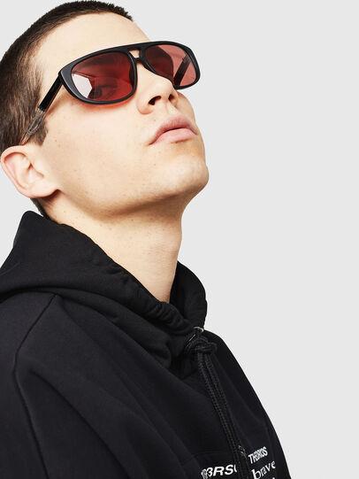 Diesel - DL0300, Black/White - Sunglasses - Image 5