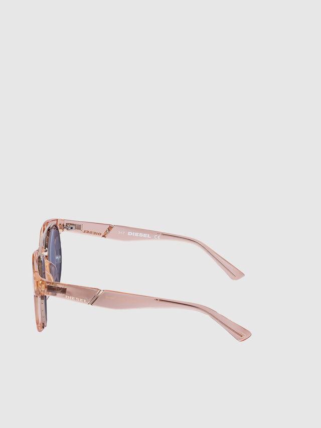 Diesel - DL0251, Pink - Sunglasses - Image 3