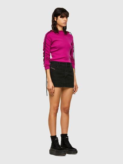 Diesel - M-JULIA, Hot pink - Knitwear - Image 5