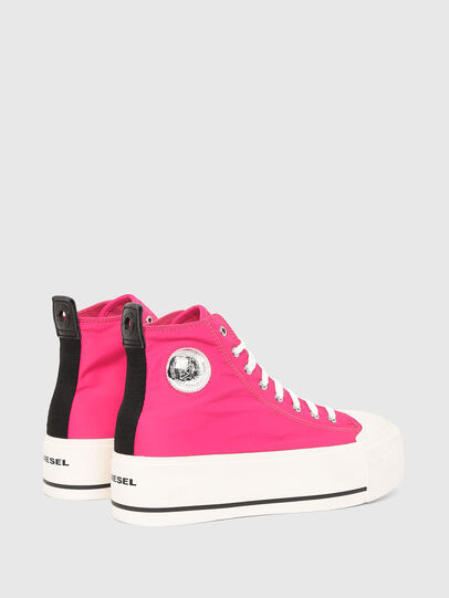 Diesel - S-ASTICO MC WEDGE, Pink - Sneakers - Image 3