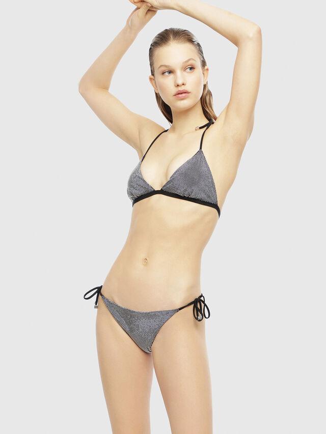 Diesel - BFSET-CALYBRIT, Black/Silver - Bikini - Image 1