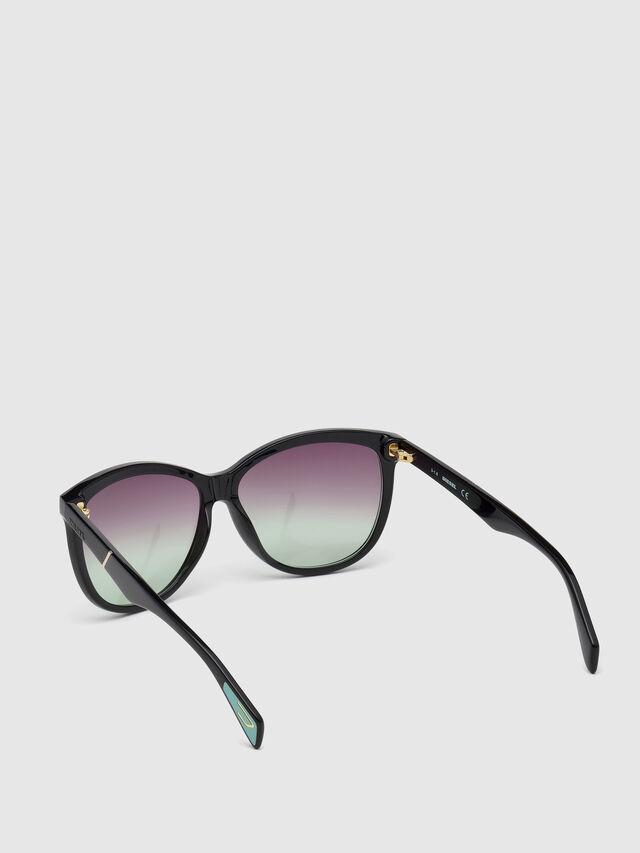 Diesel - DL0221, Black - Sunglasses - Image 2