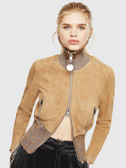 Diesel - L-LYS-A,  - Leather jackets - Image 1