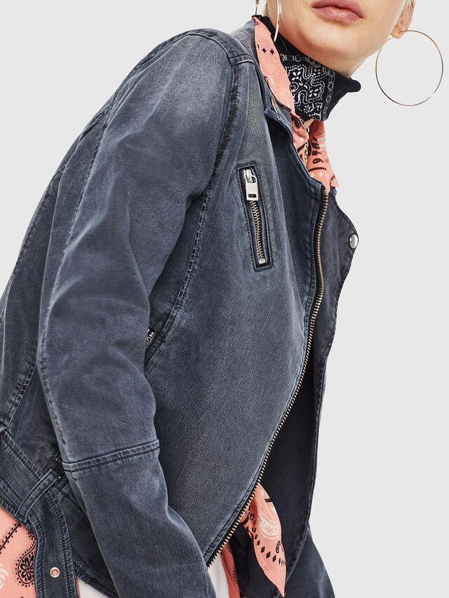 Diesel - KERBIZ JOGGJEANS, Black Jeans - Denim Jackets - Image 4