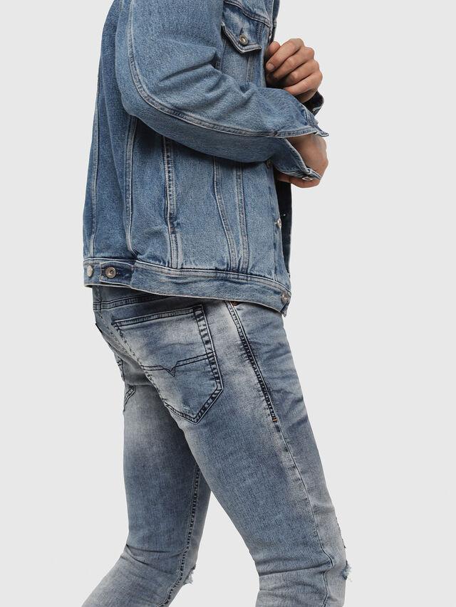Diesel - Thommer JoggJeans 069FC, Medium blue - Jeans - Image 4