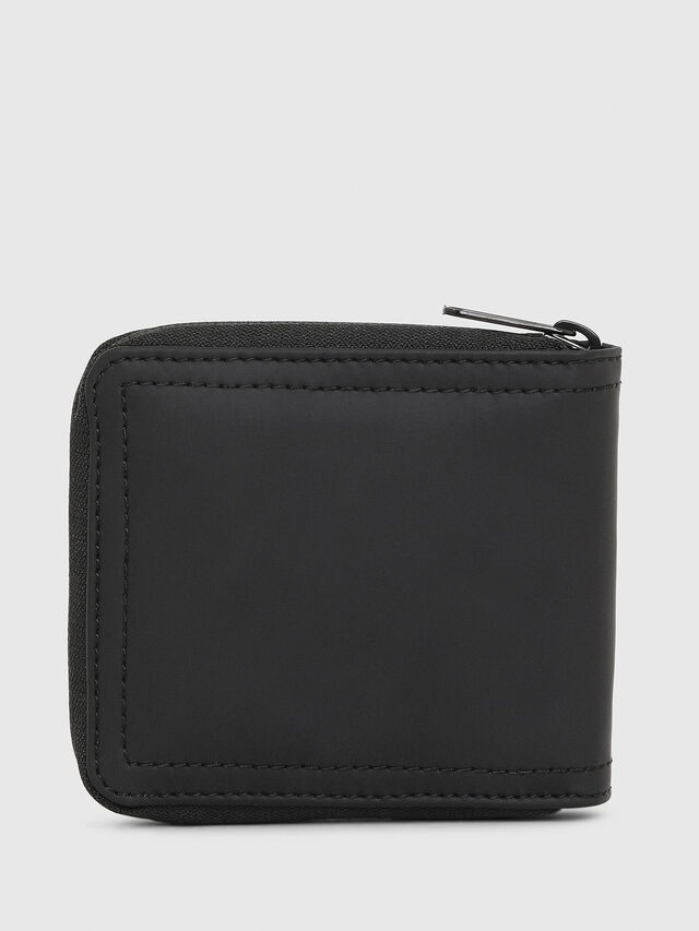 Diesel - ZIPPY HIRESH S, Black/Red - Zip-Round Wallets - Image 2