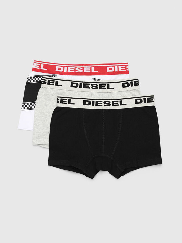 Diesel - USSY THREE-PACK US, Multicolor/Grey - Underwear - Image 1