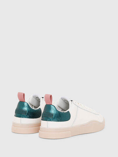 Diesel - S-CLEVER LOW LACE W, White/Green - Sneakers - Image 3