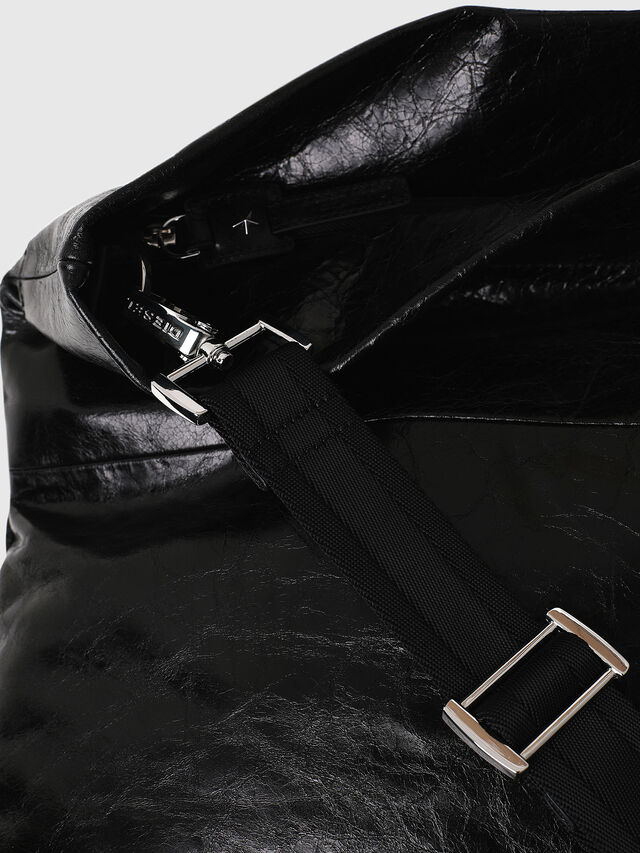 Diesel - F-LITT SHOPPER EW, Black - Clutches - Image 3