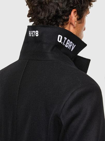Diesel - W-ODER, Black - Winter Jackets - Image 5