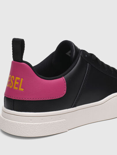 Diesel - S-CLEVER LOW LACE W, Black/Pink - Sneakers - Image 4
