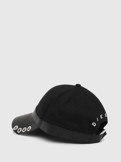 Diesel - COSNAP, Black - Caps - Image 2