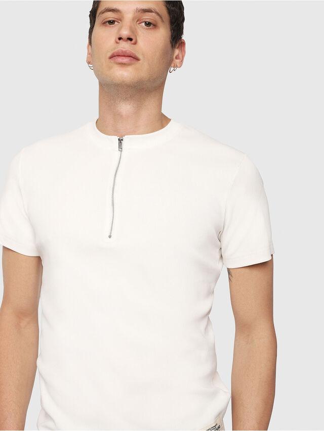Diesel - T-YASUSHI, Off White - T-Shirts - Image 3