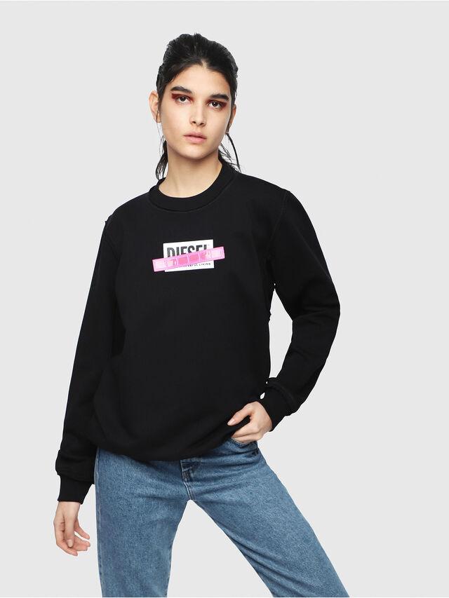 Diesel - F-LYANY-B, Black - Sweaters - Image 1