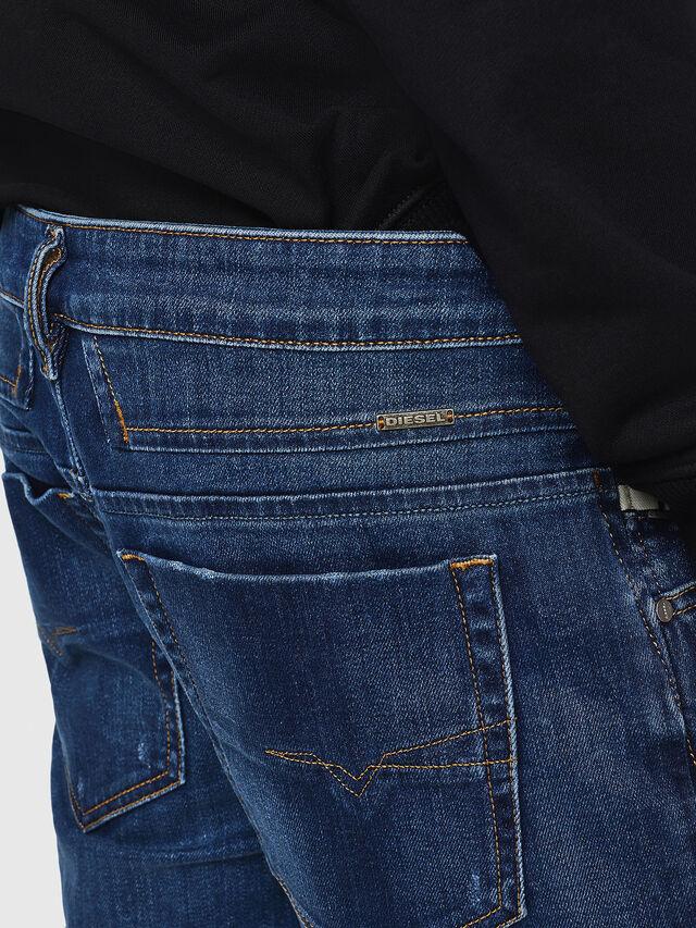 Diesel - D-Bazer 083AZ, Medium blue - Jeans - Image 4