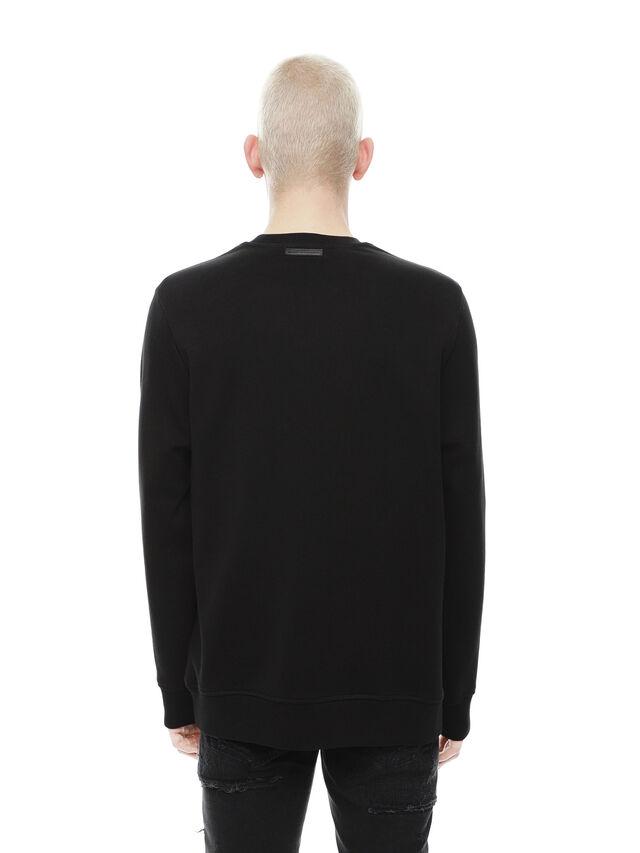 Diesel - SNEILB-PEZZABOY, Black - Sweaters - Image 2