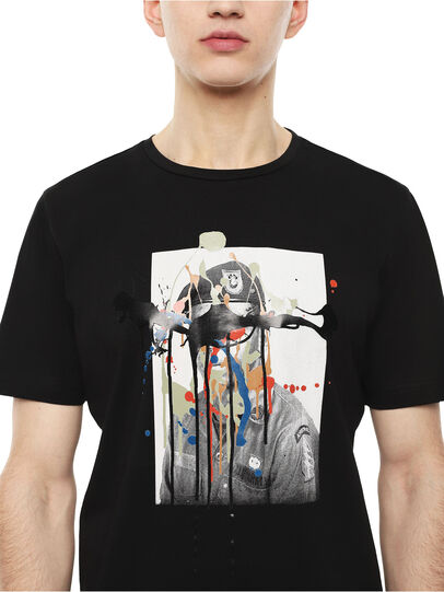 Diesel - TY-DRIPPINGSOLDIER,  - T-Shirts - Image 3
