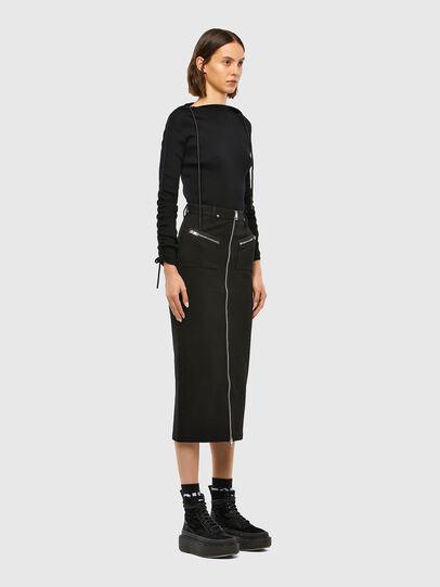 Diesel - O-SIA, Black - Skirts - Image 5