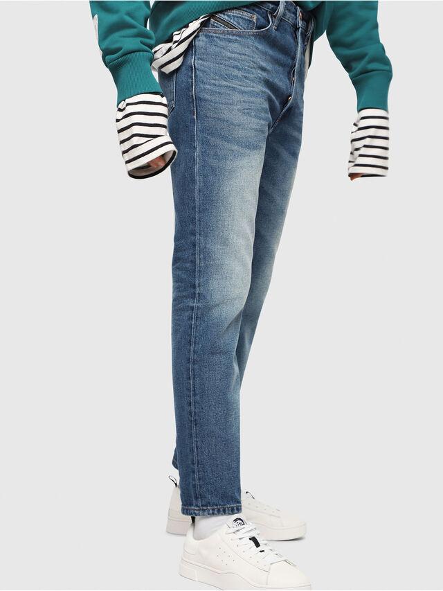 Diesel - D-Aygle 0076Y, Medium blue - Jeans - Image 4