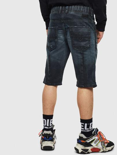 Diesel - D-KROOSHORT JOGGJEANS, Dark Blue - Shorts - Image 2
