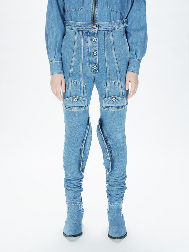 Diesel - SOJP01, Light Blue - Pants - Image 3
