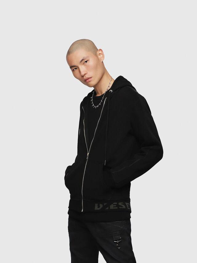 Diesel - S-GINA-J, Black - Sweaters - Image 1