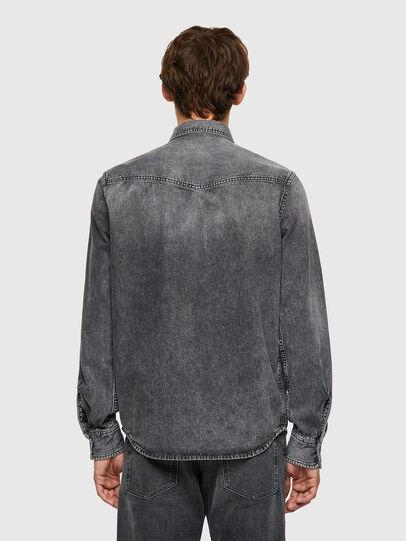 Diesel - D-EAST-P1-SP2, Dark grey - Denim Shirts - Image 2