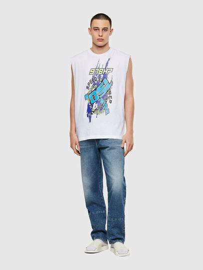 Diesel - T-OP, White - T-Shirts - Image 4