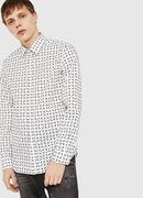 S-AKURA, White/Black - Shirts