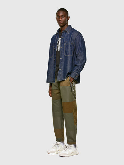 Diesel - D-RAPP, Dark Blue - Denim Shirts - Image 6