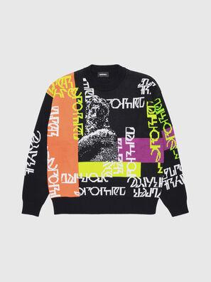 KNOX, Multicolor/Black - Knitwear