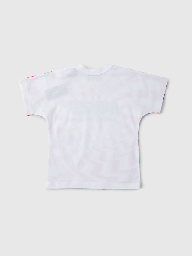 Diesel - TRUCCIB, White/Red/Blu - T-shirts and Tops - Image 2