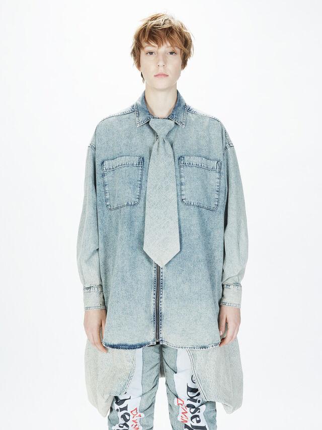 Diesel - SOTS01, Grey Jeans - Shirts - Image 3