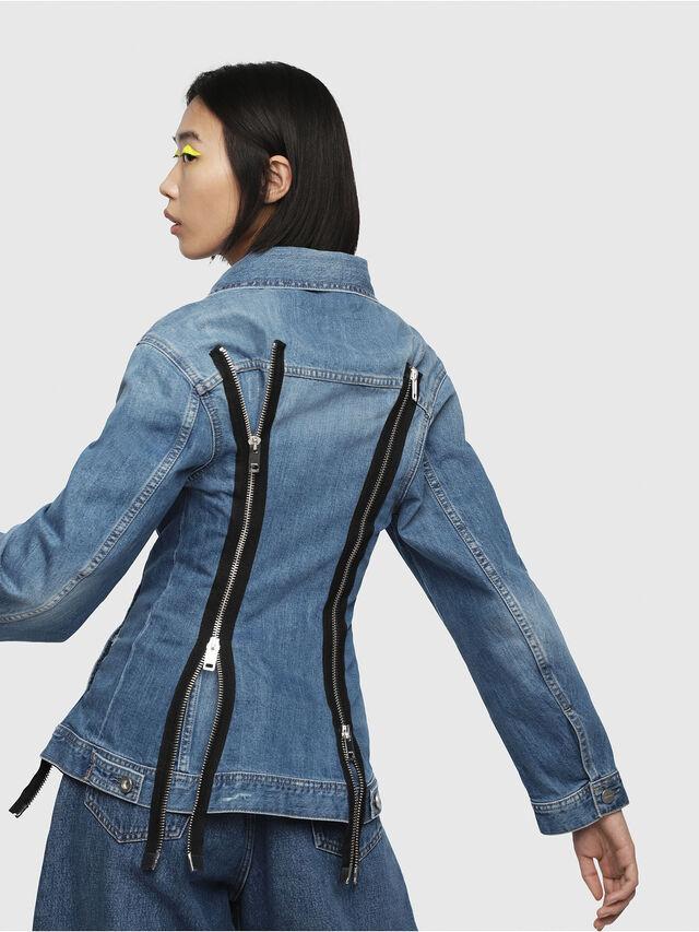 Diesel - DE-LILAC, Blue Jeans - Denim Jackets - Image 2