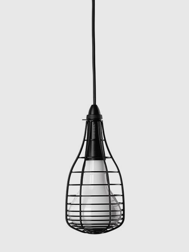 Living CAGE SOSPENSIONE MIC, Black - Hang Lighting - Image 1