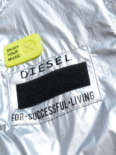 Diesel - JMATISE, Silver - Jackets - Image 3