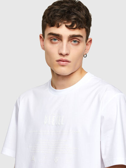 Diesel - T-JUST-E7, White - T-Shirts - Image 3