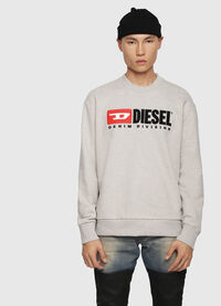 S-CREW-DIVISION, Light Grey