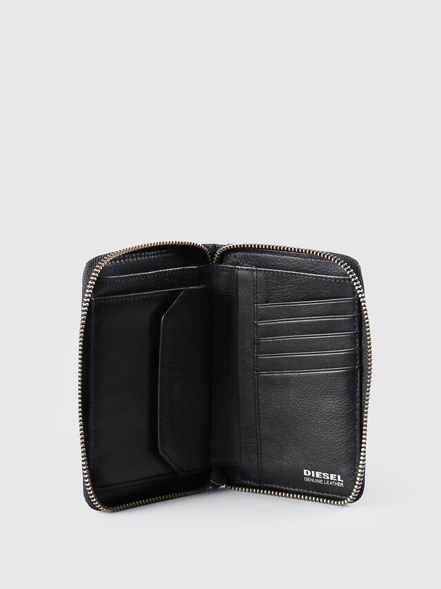 Diesel JADDAA, Black Leather - Small Wallets - Image 4