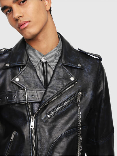 Diesel - L-KIO,  - Leather jackets - Image 3