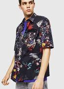 S-FRY-FLOW, Multicolor/Black - Shirts