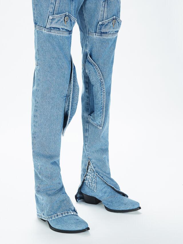 Diesel - SOJP01, Light Blue - Pants - Image 5