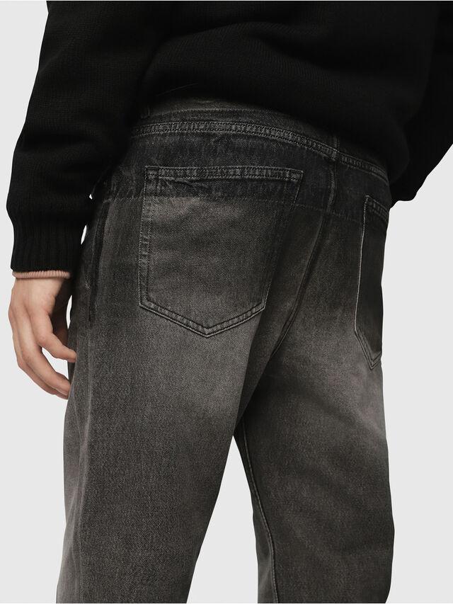 Diesel - D-Aygle 089AU, Black/Dark grey - Jeans - Image 4