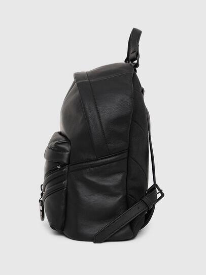 Diesel - LE-ZIPPER BACKPACK, Black - Backpacks - Image 3