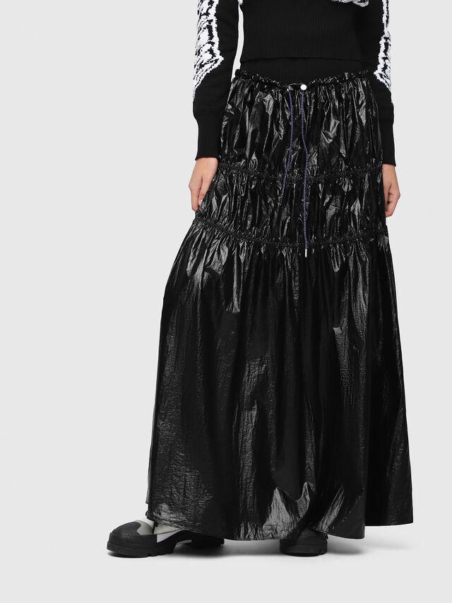 Diesel - O-LIN, Black - Skirts - Image 1